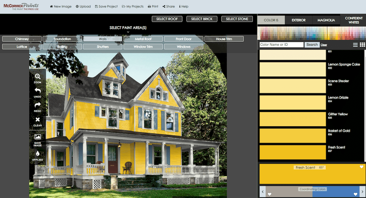 Exterior Paint Visualizer by McCormick Paints