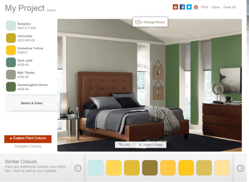 Behr® Paint Colours apply color