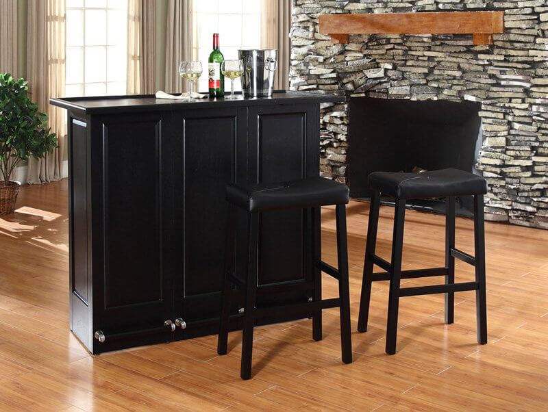 Best home bars and bar stools for man caves.