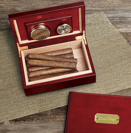 If you're a cigar aficionado, you know exactly what this is. You may even have one or two at home. A nice, well built humidor is the perfect accessory for any man who knows and loves his cigars. With a rich wood finish, you'll be proud to display this prominently in your man cave. Style almost doesn't matter, but it would fit best within a more traditional or luxuriously appointed man cave.