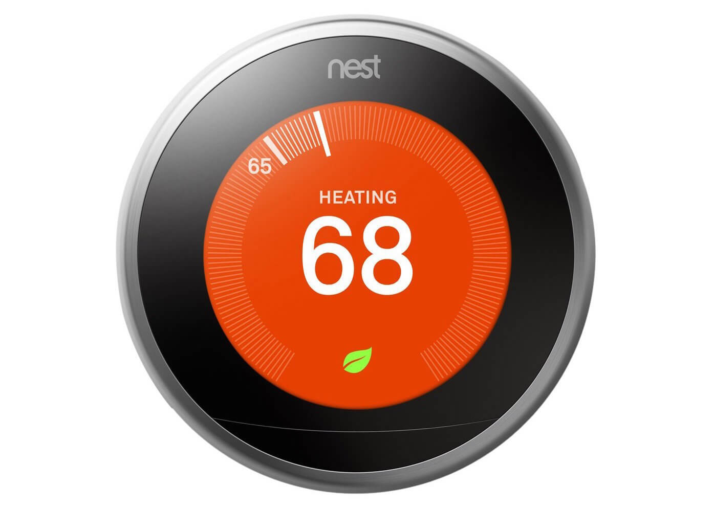 The Nest Learning Thermostat adapts to your lifestyle and the seasons, programming itself after just a week of operation. For instance, it will learn when you turn the heat down at night, and when you wake up for breakfast. It'll take note of when you leave for work and start programming around your schedule. Even more, with a companion smartphone app you can keep track of temperature and energy use remotely, and even set the temperature from wherever you are. Additionally, the wall unit itself will light up only when you've entered the room, and can be programmed to look just how you prefer.