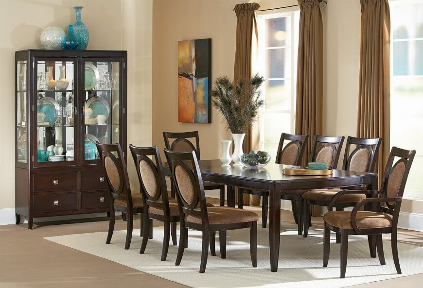 20 Wood Rectangle Dining Tables That, Dining Room Sets 8 Seats