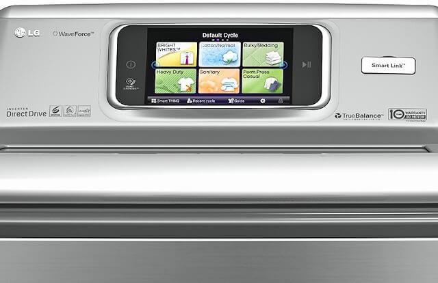 Similar to its companion washer, the Smart ThinQ dryer features a bevy of advances that take the standard laundry process to the next level. In addition to remote smartphone connectivity, allowing you to monitor your dryer remotely and download new and improved cycles, it features Smart Grid Ready; this program automatically runs the dryer when electricity rates are lowest.