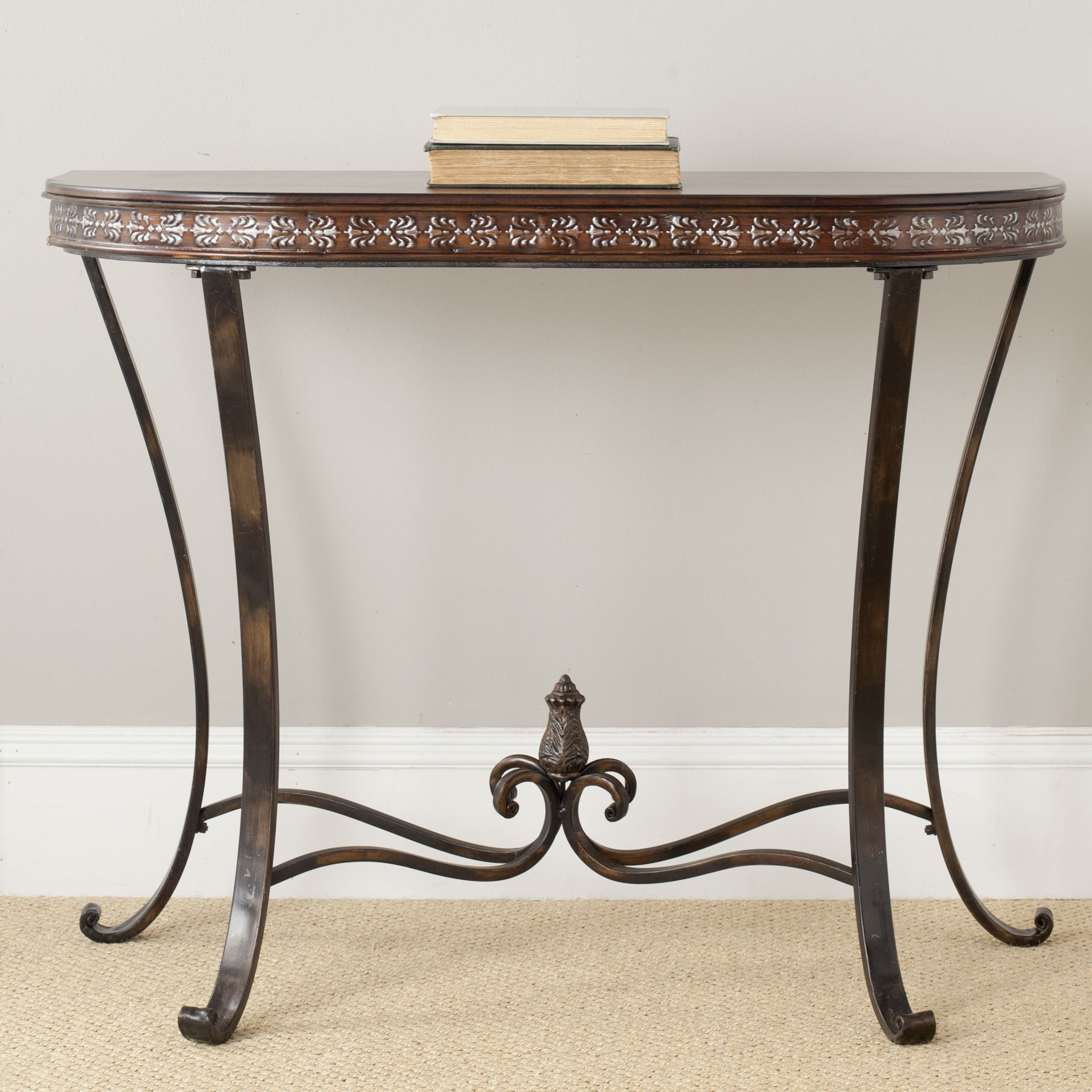 Oval foyer table photo
