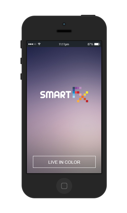 SmartFX light bulbs are a uniquely creative way to spice up the lighting in your home, with fully customizable colors and programming that allows for a range of rhythmic features. The best part is that they can be directly controlled from your smartphone with an included free app.