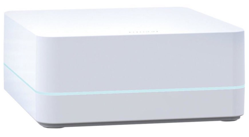 Like many other smart home control hubs, the Caseta lets you control lighting, shades, thermostat, and much more from your smartphone or tablet using the free Lutron app. Even cooler, you can control the smart home ecosystem using an Apple Watch. This device works with Caseta wireless dimmers and Serena remote controlled shades, allowing you to schedule the lighting conditions in your home by time, season, and even your personal location. This means the lights at home can be automatically turned on as you approach home.