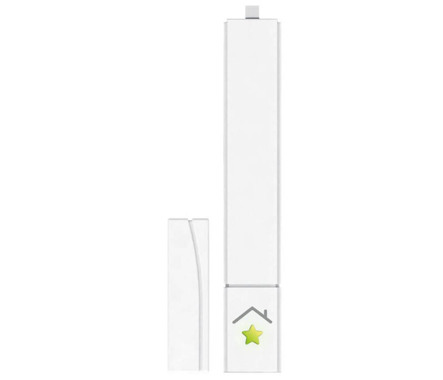 Similar to the above product, this device is a slim, sleek, and fully discreet way to monitor your windows and doors at home. After a breezy installation, you'll be able to check all access points to your house at any time, remotely via smartphone or computer. It communicates with other RWE smart home devices to work in concert, keeping your home safe and efficient: for example, radiators can reduce their output automatically when they sense that the windows are open, cranking back up when the window is closed.