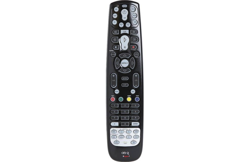 This handsome and stealthily styled remote supports all On-Q products with IR control, plus up to 7 additional IR modes can be used, all while looking like nothing more than a sturdy universal remote control. With built-in memory, device codes will never be lost when you replace the batteries. With a learning function, this remote can add features and functions unique to your specific devices, becoming more useful as you use it.