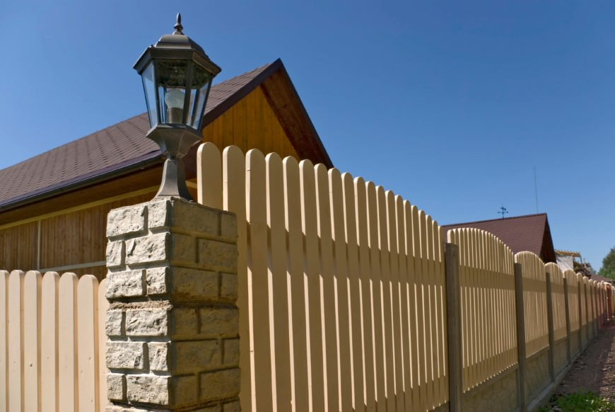 Adding a lighting element to a fence post allows you to illuminate the entire perimeter of your space.