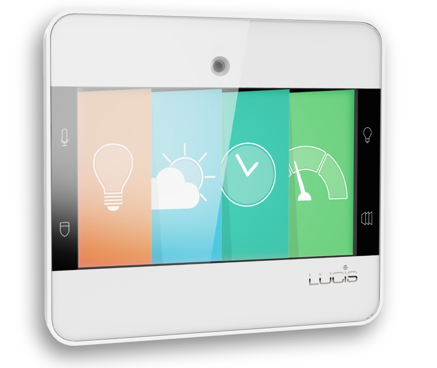 The NuBryte, from Lucis, is your ticket to advanced and complete home lighting control and security monitoring. The unique feature of this smart home device is its open design API, making it possible to integrate other sensors from various brands over a wireless connection. It allows you to use your phone to control lighting, thermostat and more, as well as monitor your security either via sensors or in real-time with a look at any smart home cameras you have installed.
