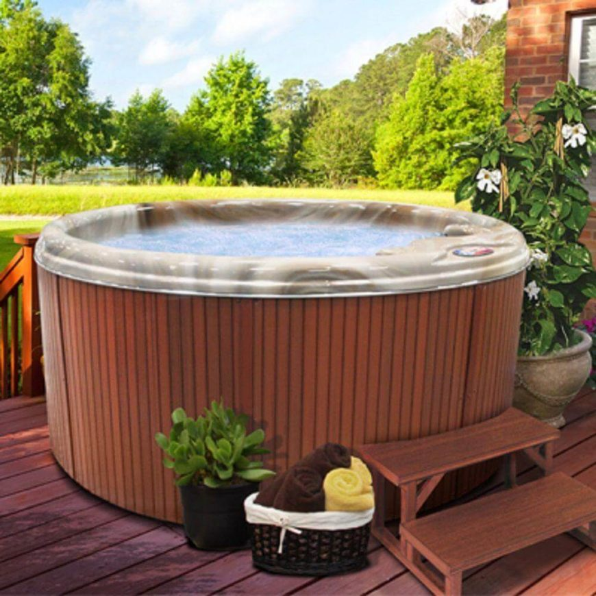 If you are worried about your space, or not having right place for a hot tub, there are small and portable models that can be set up nearly anywhere. With limited space, this may be an option for you.