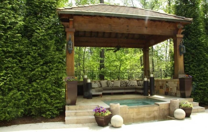 A hot tub is always a good addition to a social area. It can draw people in and make the area far more appealing to guests. A well maintained hot tub can be an irresistible draw for parties and other gatherings.