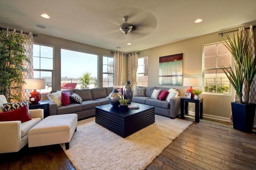 This large ottoman is great addition to this large and cozy chair, and is also large enough to provide much more seating options if there is ever need for it.