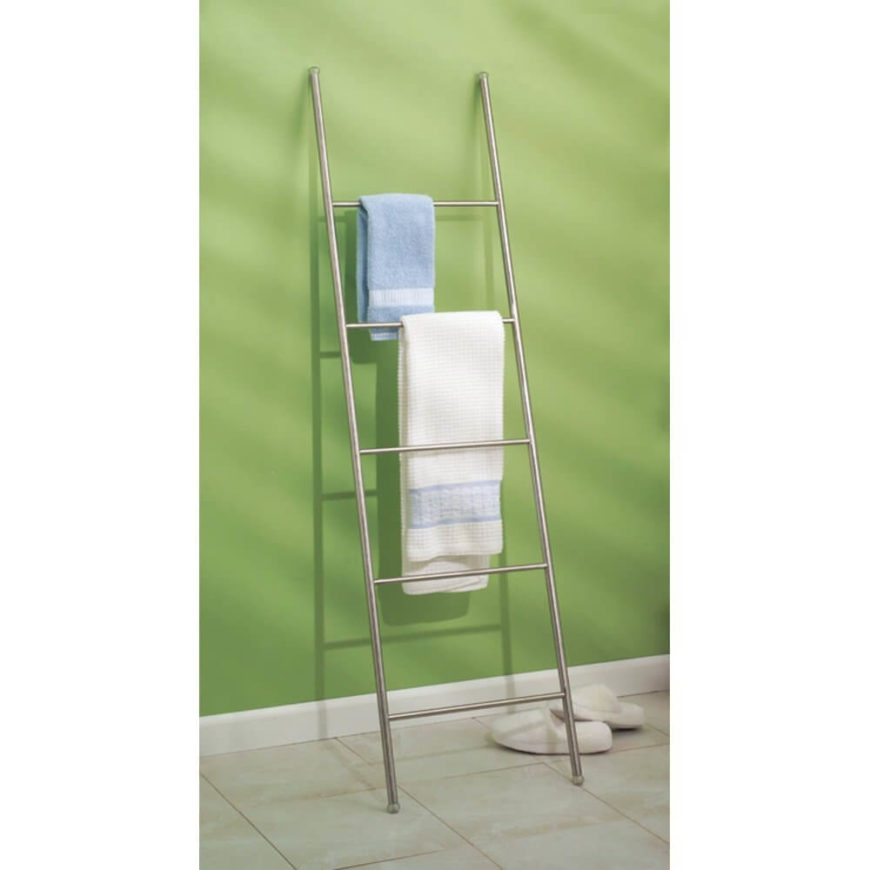 Leaning Ladder Quilt/Towel Stand