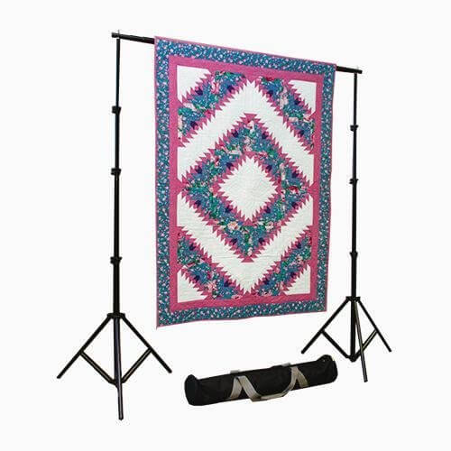 Tall Portable Single Bar Quilt Stand (Show it Off)