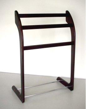 Small Wood Minimalist Quilt Stand