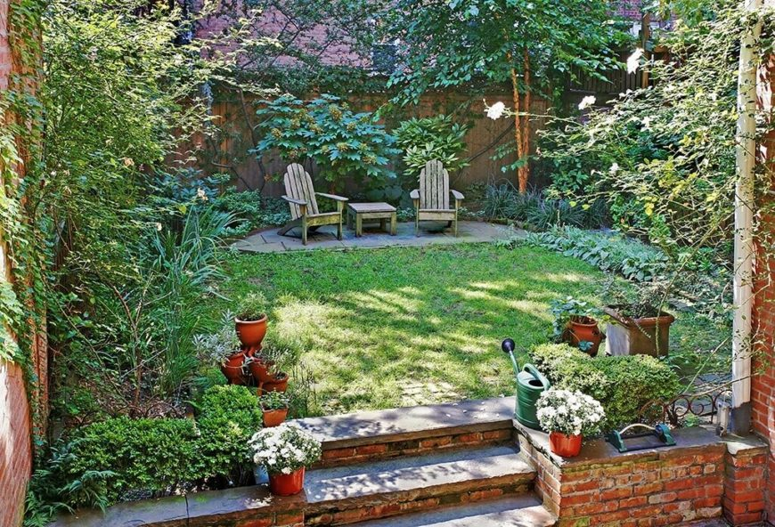 You can even build a small patio for your chairs. This can be a great way to tie the chairs into the design of your outdoor area.