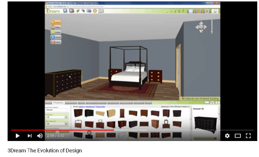 3Dream furnish