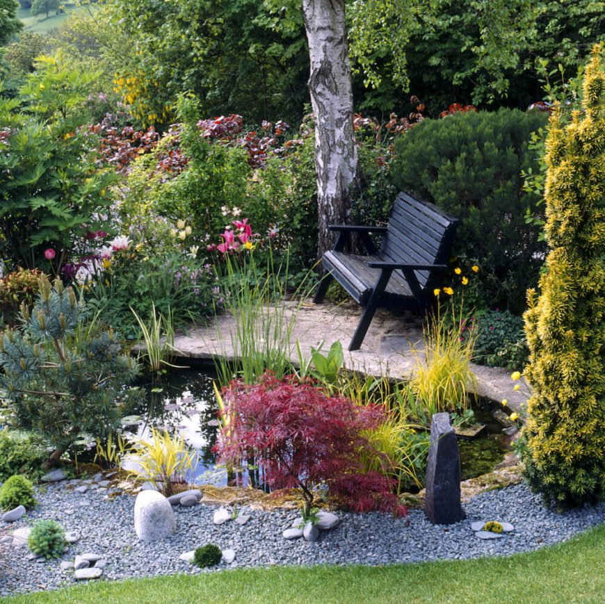 A bench can be your getaway from the world. Placing your personal bench out in your garden or by your pond is a perfect retreat. Build your own little getaway spot and use a bench as your place to sit and reflect.