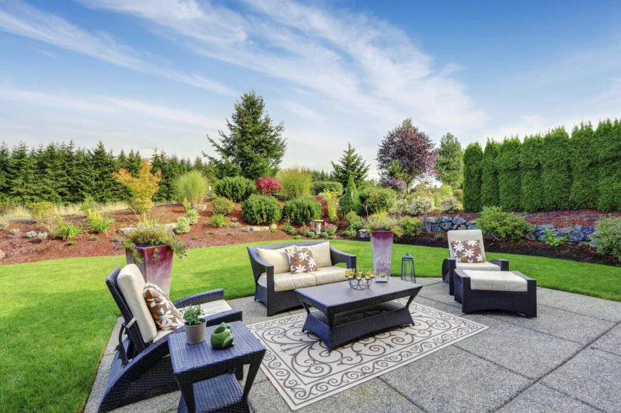 Trees are a great way to outline your property. Your property line will be clearly marked as well as beautiful with a line of towering trees. The right selection of trees can also provide an element of privacy with their thick cover.