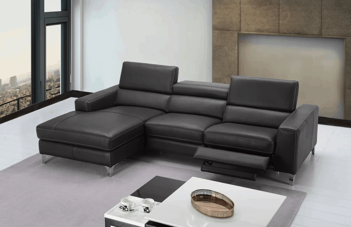 Ultra modern reclining sectional
