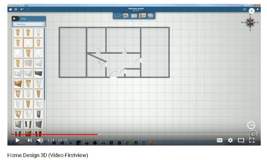 Home Design 3D doors