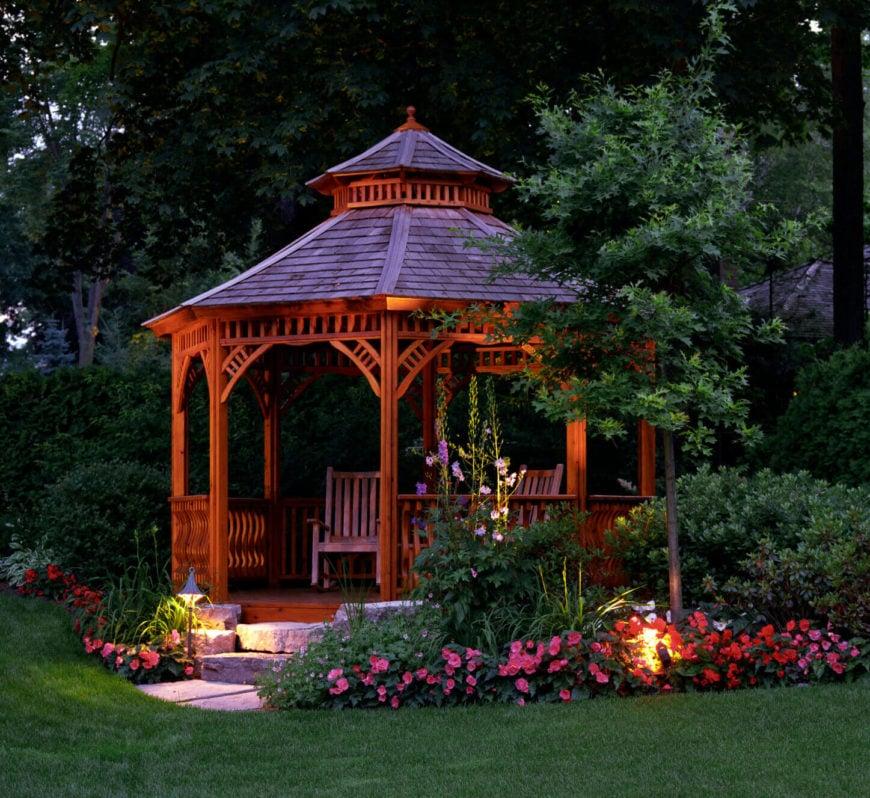 32 Garden Gazebos For Creating Your Garden Refuge Home Stratosphere