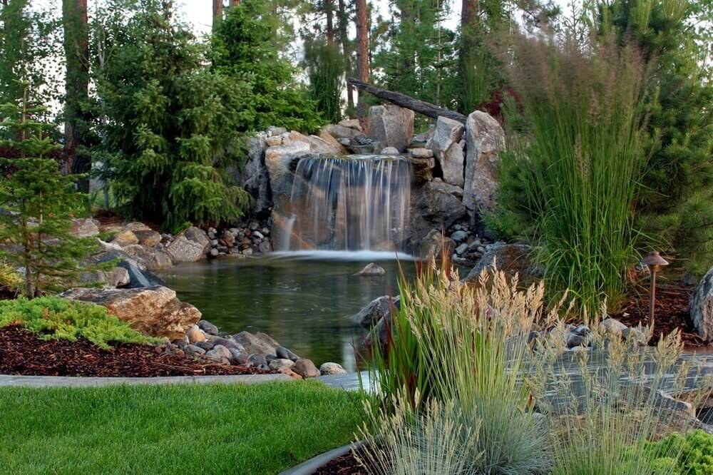 Here is another great space with a mix of wonderful grasses. Each of the grasses provides a different element to the features around the area, showing just how much versatility grasses have.