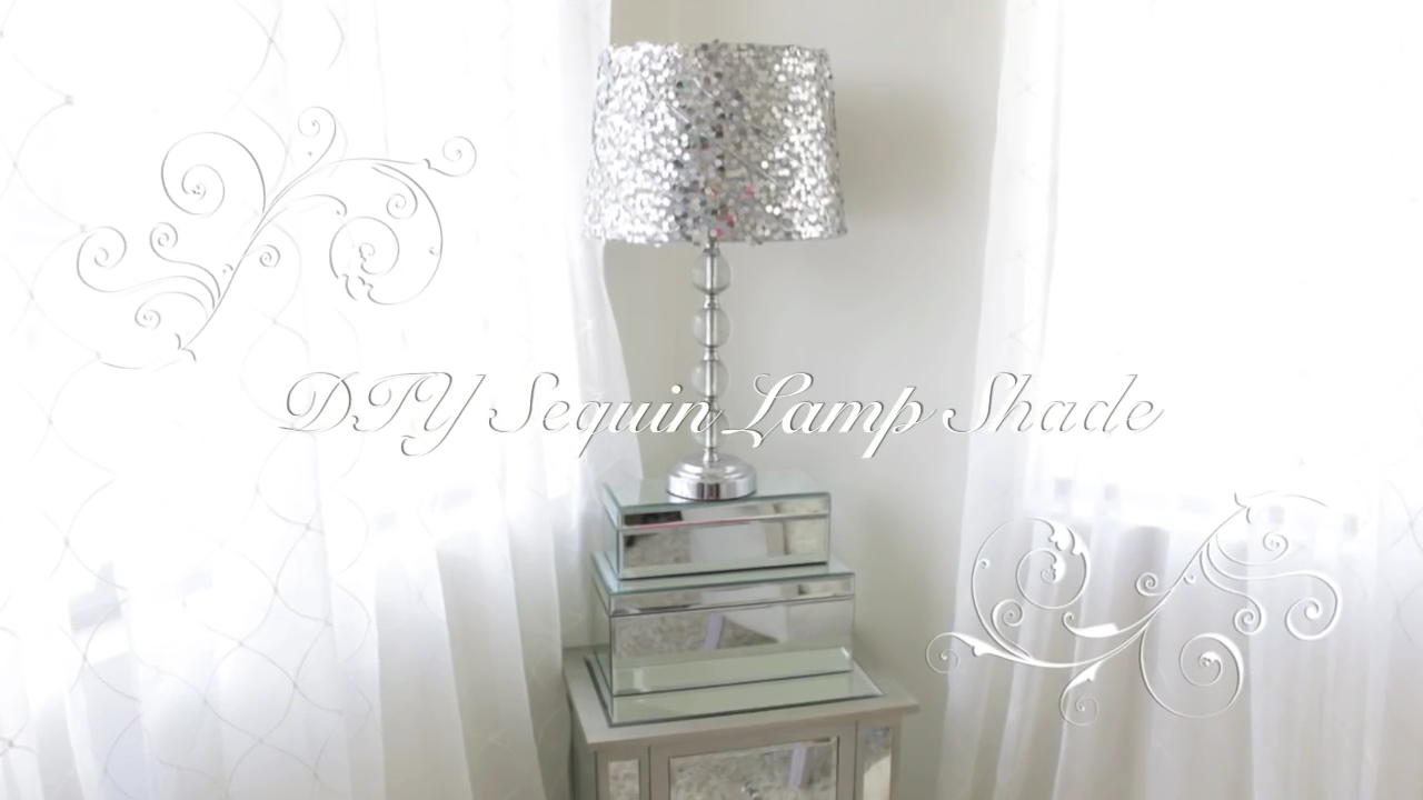If the teenage girl in your life desires a little bit of glitz and glamour, this simple sequin lampshade DIY may be just the ticket! Transform any old lampshade into one that's just her taste.