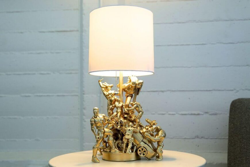 22. DIY Decor Ideas - Teen Boy Room - Action Figure Lamp - InstructablesWhile teen boys may no longer play with their childhood action figures, it doesn't mean they really want to get rid of them. This DIY is a clever way to repurpose favorite action figures into a grown-up lamp. Give it a shot!