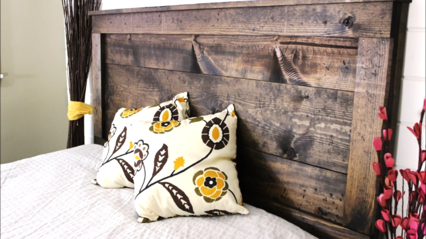 A simple wooden headboard is a great addition to any bedroom, but they especially work well in teenage boy rooms. They're sturdy, classic, and are a piece they'll want to take with them when they move out as adults.
