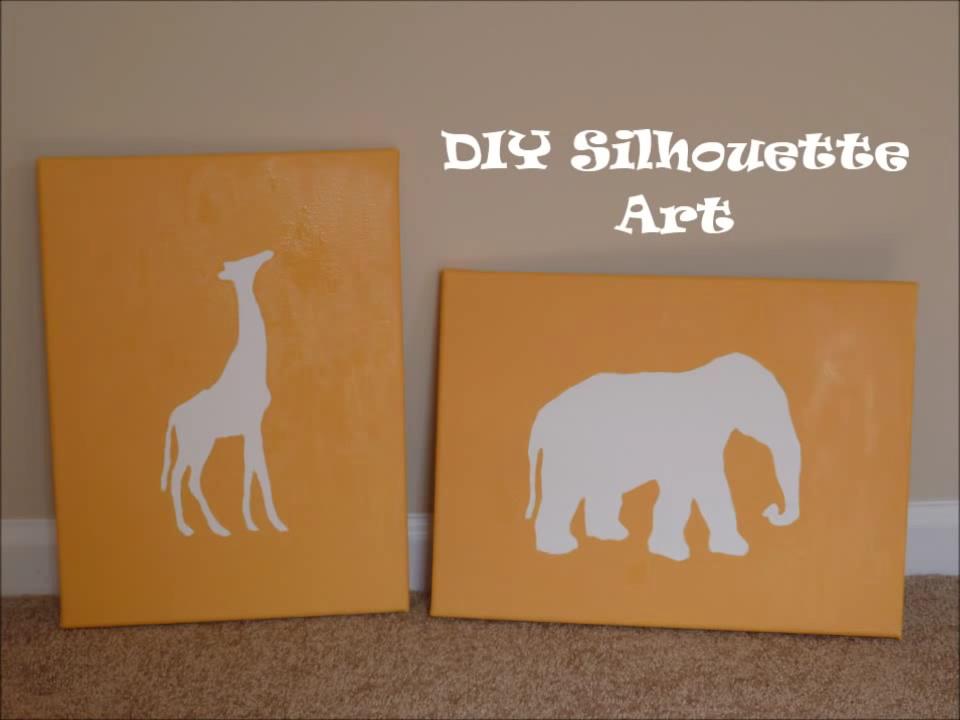 There's nothing like simple, bright wall art for a baby's room. This simple tutorial will give you the tools you need to create adorable artwork for the nursery. The shown project features African animals, but can be adapted to fit any nursery décor.
