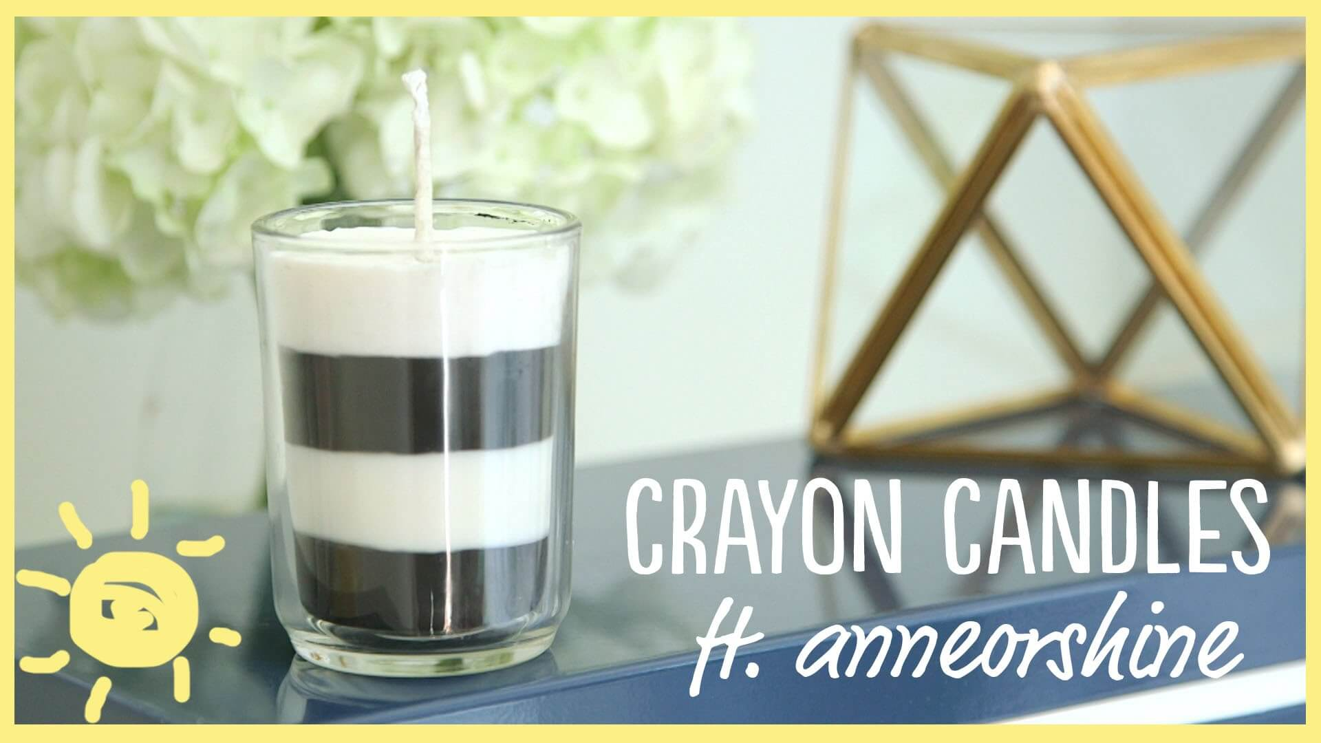This is a super easy tutorial that will have you making your very own candles using your favorite scents! No more expensive candles.