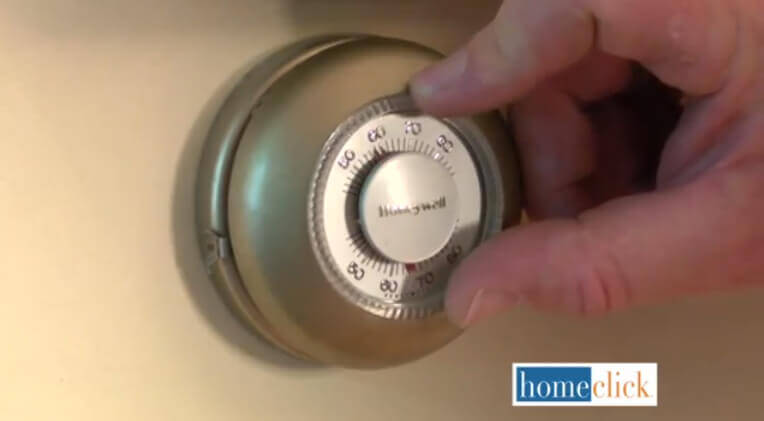 This is just a good general rule for homeowners: keep your thermostat set to at least 55 F, or 13 C, during the very cold months of the year. This is warm enough to ensure that nothing in your house will freeze.