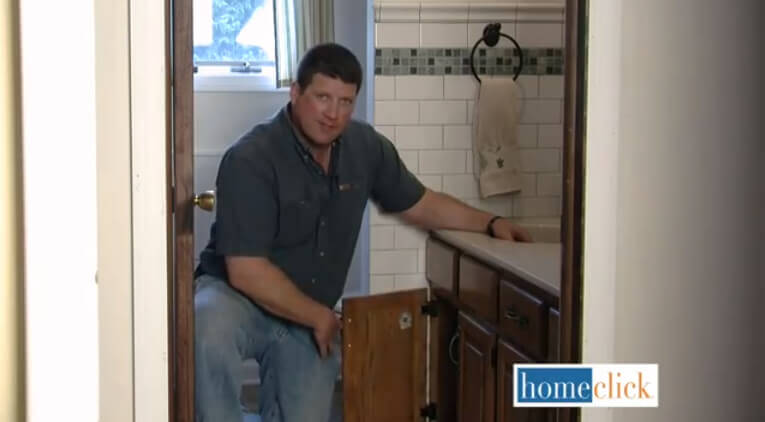 Periodically, and especially on those coldest days, you'll want to open the doors of your kitchen and bathroom cabinets, anywhere that conceals piping, and let warm air circulate.