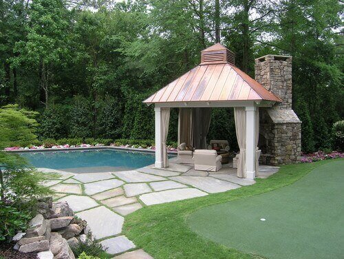 Hardtops can be tied into other permanent features, accentuating and building upon them. The right gazebo can be a valuable member of your backyard design for years.
