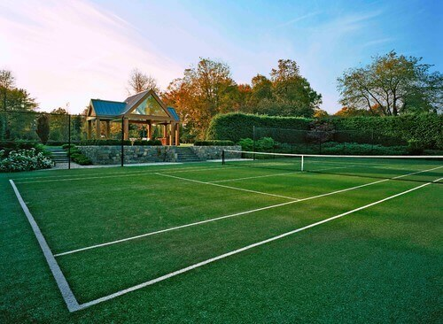 One great accessory for a tennis court is a pavilion. Pavilions provide seating for onlookers and players when they need a rest. You can also use them to serve food and beverages to anyone interested in the matches.