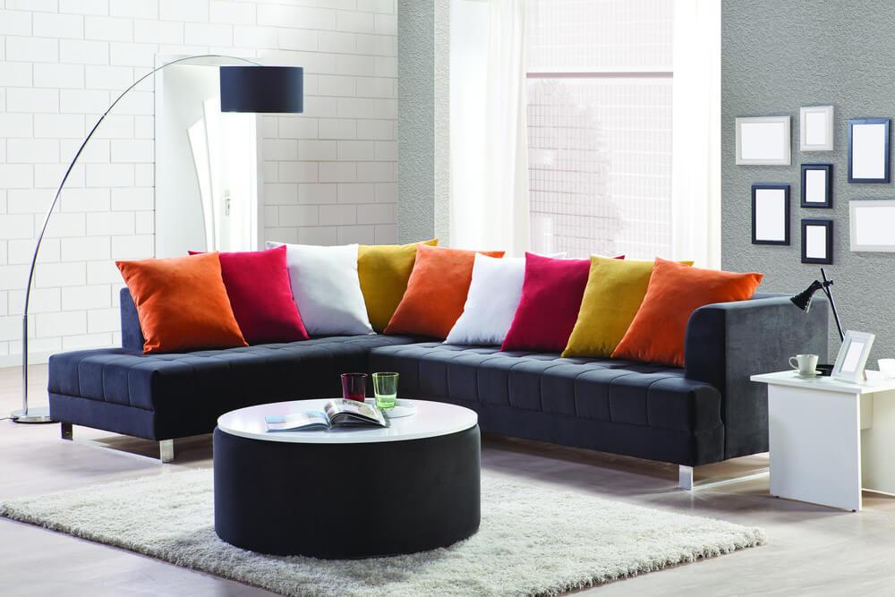 35 Sofa Throw Pillow Examples, Sofa With Pillows