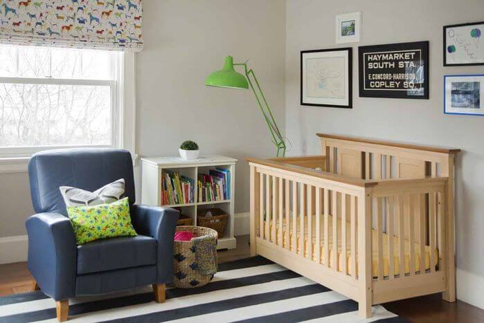 If your children are very young, you may want to actively participate in developing their love of reading. By setting up space where you can read to and with them, you can show them how fun it can be.