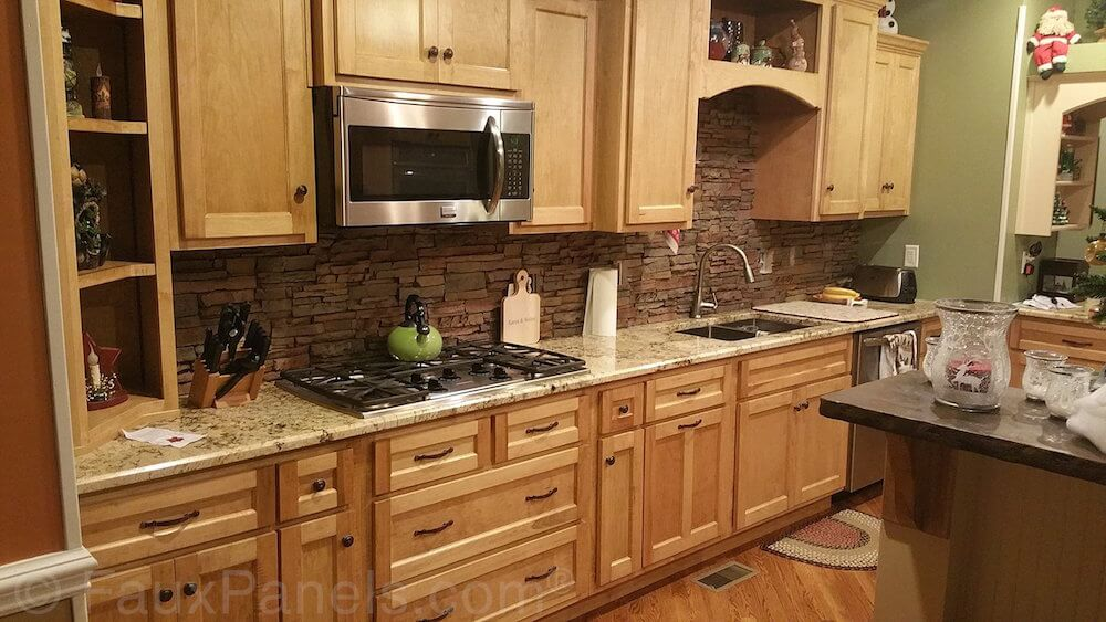 30 Faux Brick And Rock Panel Ideas Pictures Home Stratosphere