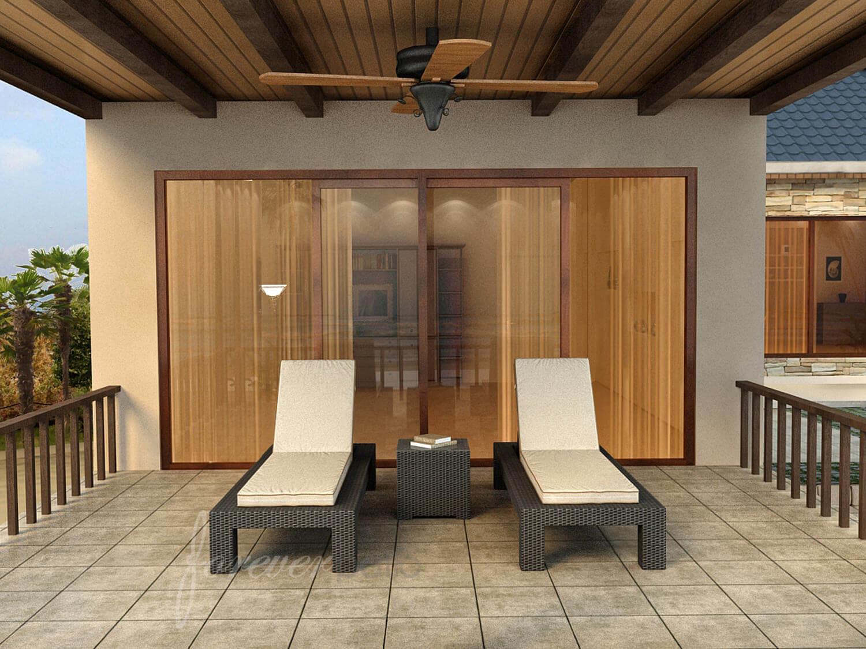 hampton chaise lounge set