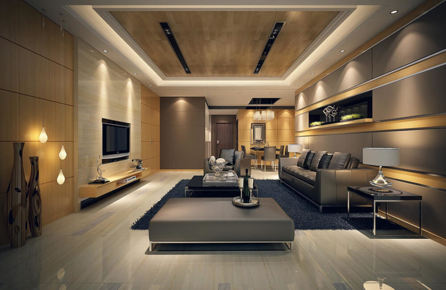 Leather materials for your furniture can also be utilized if you are going for rich textures and deep tones of color.