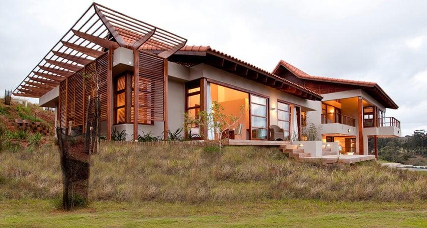 Japanese-Styled Open Plan Modern Home