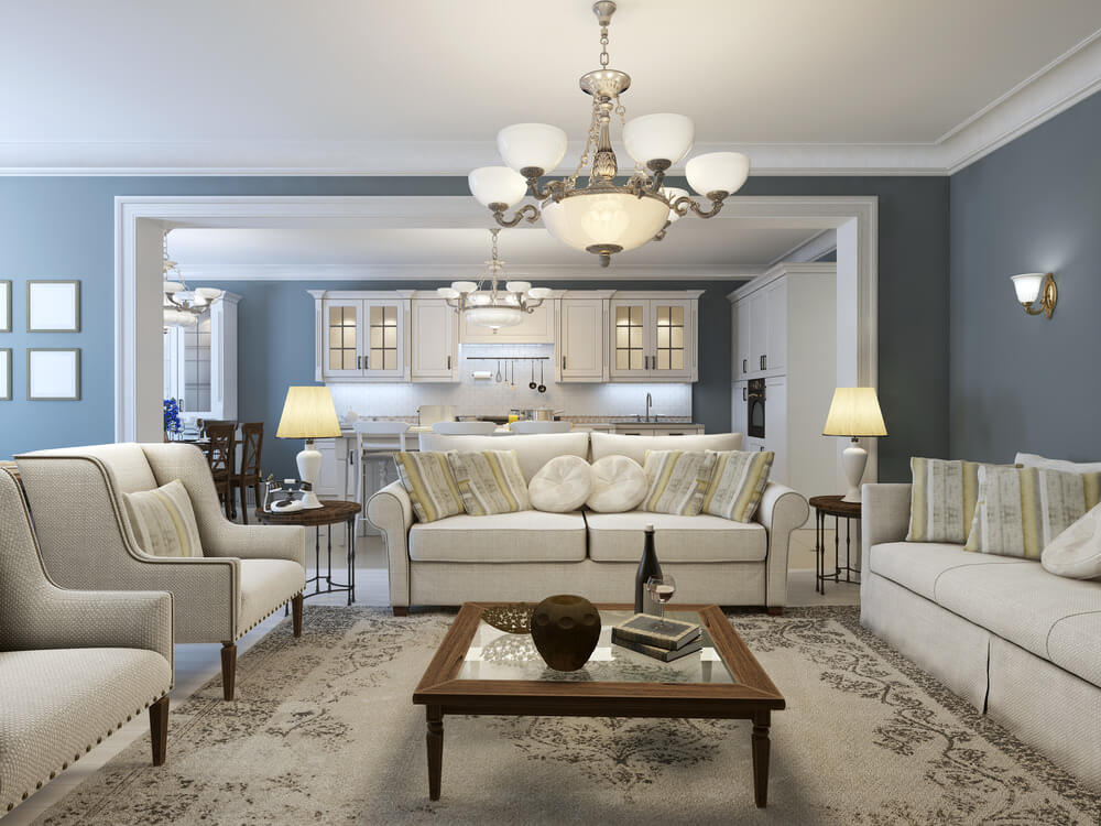 Beautiful Living Room Decors with a Touch of Color