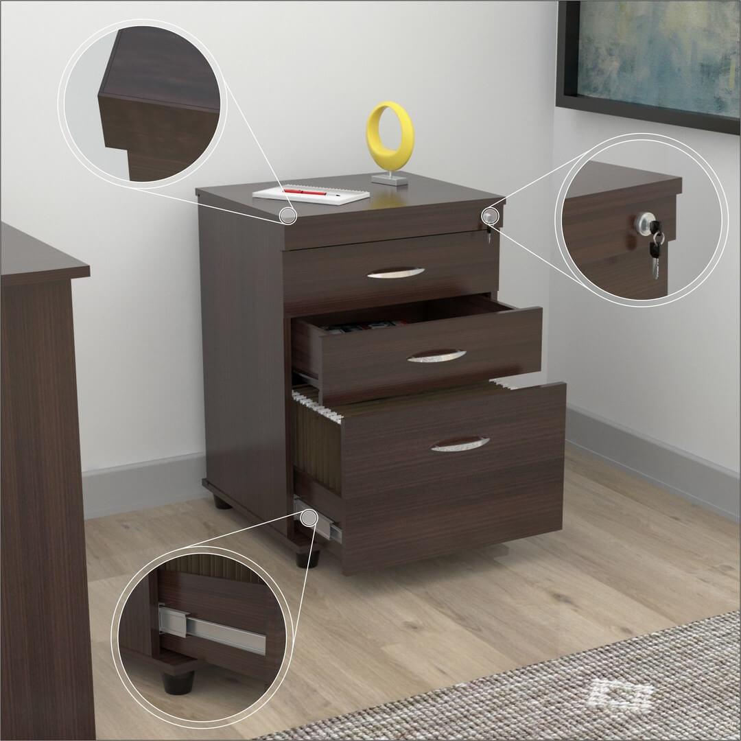 3-drawer espresso file cabinet1