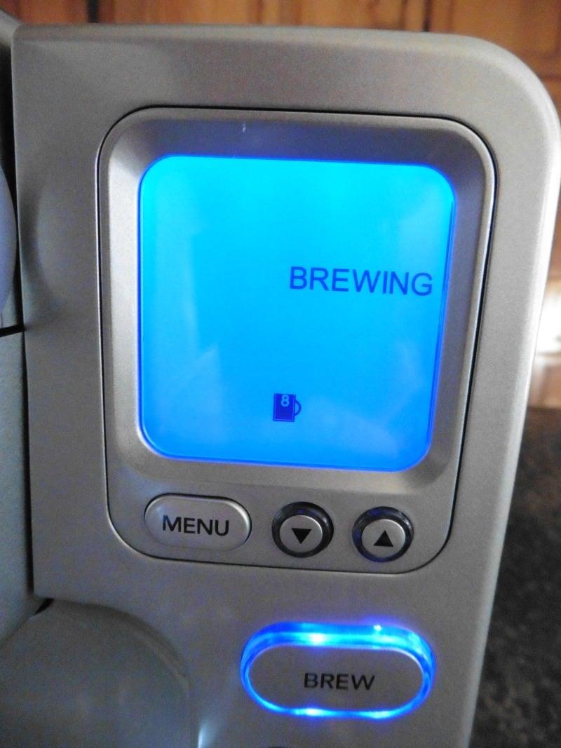 Cuisinart SS-700 Screen and Menu Buttons