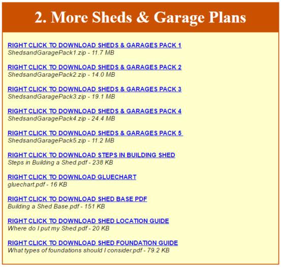 Ryans Shed Plans Download PDF Files2