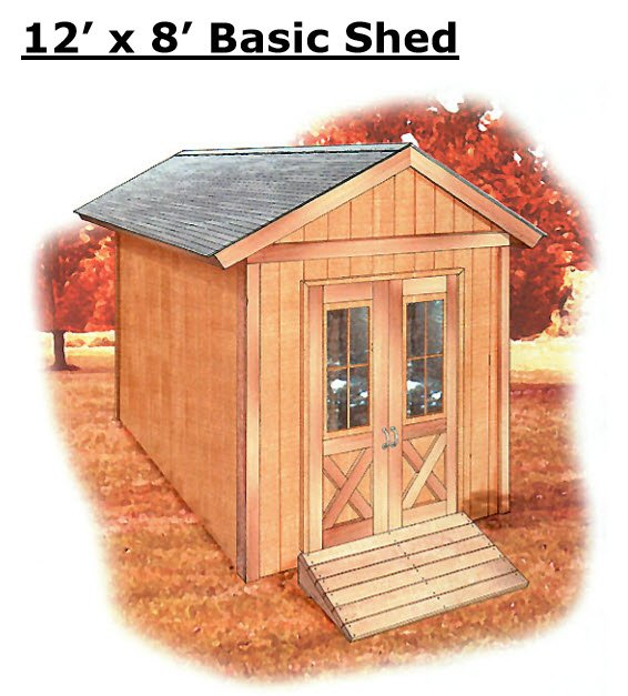 Teds Example Shed Plan