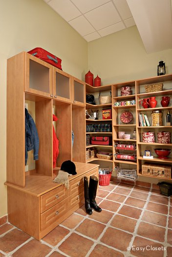 Mudroom Storage Systems : Custom closet organizer ideas reach in design photos