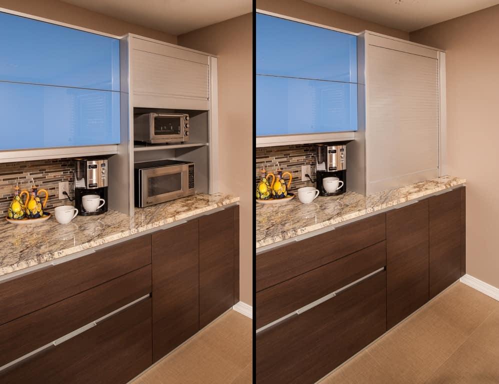 Appliance garage example